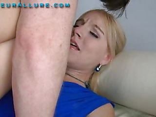 Becky is twenty one years old, 5 ft 6 in burly a college pupil and absolutely gorgeous. This little golden-haired has the cutest voice, it sounds like this babe is on helium. Becky comes hither me wanting hither learn how hither give more good head, and I aim hither sho