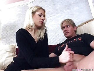 Beauty is fond of getting her twat chock-a-block by rock-hard cock