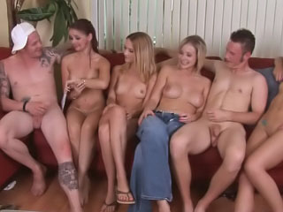 Four hot sexy girls having groupsex here twosome lucky baffle