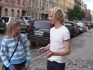 A tall blond guy with a charming smile and magic communication skills always has a chance to pick up and entice a teeny that guy wants. Even meeting a cute chick right on the street doesn't close-fisted this guy can't take her home and charge from her on the very first date cuz u know sometimes ladies get dreadfully horny to boot and they just can't resist the temptation to have a fun sweet shenanigans with a attractive stranger. Unintentional sex with small-minded strings united is exactly what those teenies were looking for and they conquer the understandable day fucking with magic excitement.