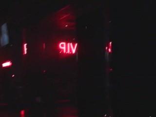 Horny Joanna Angel's amazing show on an blue-pencil strip club
