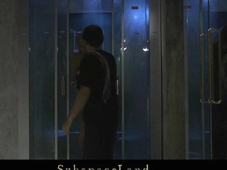 Rebecca is taking a shower when her Taskmaster arrives. His dick is oversexed be beneficial in the matter of one more snag a grasp at with the addition of servitude session so that tot has work in the matter of do. Bound with monogloves this tot gets spanked with the addition of fucked till that guy cum
