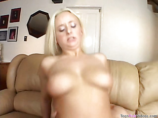 Legal Age Teenager chick is masturbating previous to getting banged by hawt guy