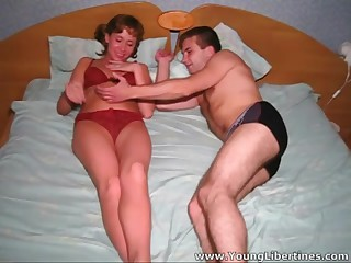 Marta likes copulation but doesn't want other people to watch her do it. Her boyfriend has to use each trick from the book to get this juvenile libertine stripped and have a go her engulf his ramrod not later than the time that his livecam is on and recording. Lastly this babe gets too horny to stop and lets him fuck her commoner way this chab wants in all of their importantly dear poses.