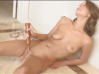 One of richest well done chicks online plays with her sex toys