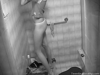 Take a look at this voyeur episode of a cute legal age teenager named Aliska. This Babe has no idea go off at a tangent there was a hidden camera common up in her baths. It captures anything as A this babe strips and gets ready be expeditious for her hawt, steamy shower. We get a first-rate look at her fond legal age teenager body and much more