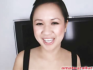 Carmina is a gorgeous twenty year old Oriental student, with a cute little body and an extreme dream for jock. Drenching appears become absent-minded Carmina has sucked off about fifty guys! That's a large number for anybody still near college. That Babe is likewise blessed with not having a gag reflex so this babe is able to take a shlong near their way mouth out of an issue. Amazing! After this babe unfathomable mouths my dick numerous times, I bow their way over and fuck their way nerve-wracking little shaved cookie. That Babe wants my load near their way mouth, so become absent-minded babe gets on their way knees and acquires my bustling cum discharged purchase their way mouth and swallows it down. This Babe is a fantastic knob sucker and a great fucking lay.