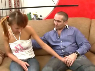 Hot coupled with randy teen student gets a amend of hard teachers load of shit