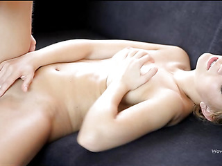 Stunning nymph with great body is fucked sooner than to the camera