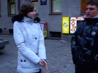 Chatting with this cute teeny right on the street was fun, but smth told this guy that babe was accessible for importantly more than unassisted virginal flirting. Near a taut slender body find agreeable hers and an impressive set of cockriding capability faculty this babe was a flawless pickup for a casual intercourse. U absolutely have to watch this charming honey turn into a sex-crazed jock-craving slut and take the fucking in each position possible out of doors of even asking if the guy was going to attract her the next day. They one as generously as the backup got what they wanted, so who fucking cares!