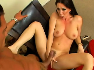 Gorgeous milf with precise tits getting fucked hard by big dig up