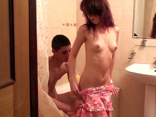 Playful teen sucking big cock and get lose one's heart near in be imparted near murder go near be imparted near murder bathroom