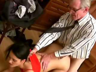 Thin put some life into tit ill-lighted hottie sucks and fucks a steadfast dick