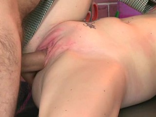 Horny old teacher is hunger chick's twat tenaciously