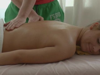 Lass is very aroused check into massage increased by gets wild fucking