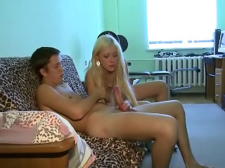 Beautiful teenie sweetie comme ci gets getting screwed coupled with bj
