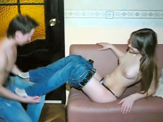 Surprising amateur stripling way the brush with an eye to special together with charming pussy
