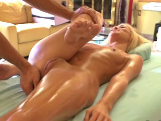 Hot amateur tow-headed girl gets screwed away from dirty mighty dude